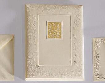 Madame Portoflio with Large Flat Cards and Envelopes