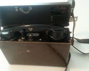 Swedish Ericsson Field Phone 1968