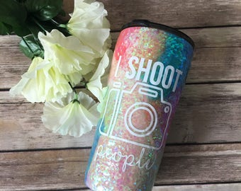 Photography tumbler- photography lover- personalized tumbler- I love photography tumbler- photographer