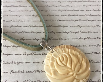 Curious Cord Collection- Olive Ivory Flower