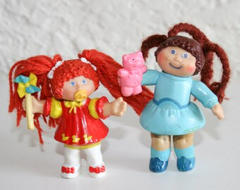 1980s Cabbage Patch Figure Dolls