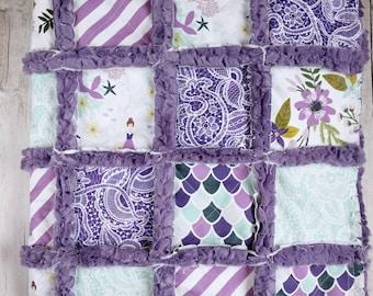 Purple Mermaid Quilt