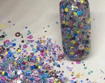 Nail Art Acrylic Gel glitte mix  YOELLYS