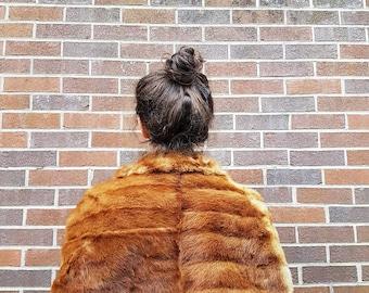 1950's mink fur stole