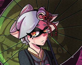 Marie- Splatoon 2