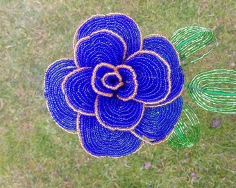 Pink Blue Pink Blue beads