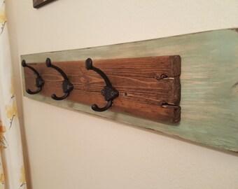 Wood Towel Rack With Hooks Like This Item Wood Towel Rack With