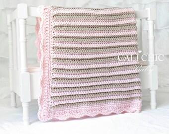 Crochet Blanket PATTERN 24 - Sweet Dreams - Crochet PATTERN 24 - Instant Download PDF
