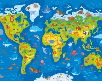 World map decal countries of the world map kids country world map decal countries of the world map kids country world map poster peel gumiabroncs Images