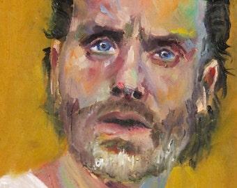 Rick Grimes | Archival Print Portrait of Andrew Lincoln from Walking Dead by Jess Kristen