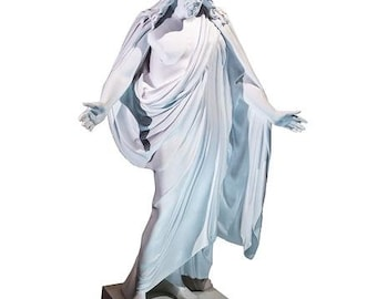"Marble Statue Christus Statue 19"" - LDS3"