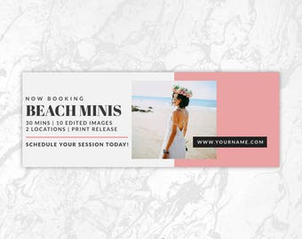 Facebook Timeline Cover PSD Template, Photography Facebook Cover, Facebook Cover Photo, Facebook Banner, Collage, Gallery - FB10