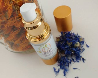 Eyes facial cleanser, makeup remover to cornflower