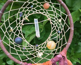 Gemstone Dream Catcher