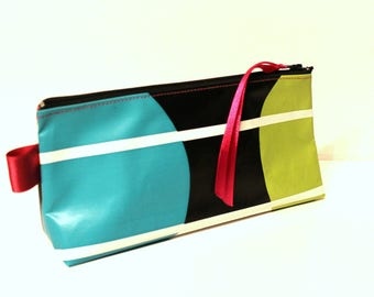 Clutch colorful makeup or pencil