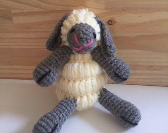 Handmade stuffed lamb