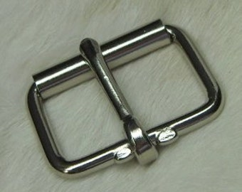Roller Buckles 2 Inch Nickel Plated Package of 100