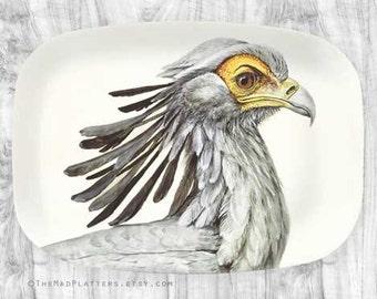 Secretary Bird platter