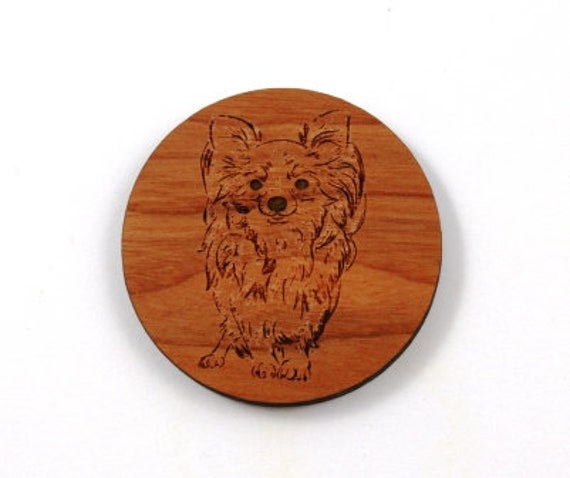 Laser Cut Supplies-1 Piece Pomeranian Charms-Acrylic and Wood Laser Cut-Jewelry Supplies-Little Laser Lab Wood and Acrylic Products