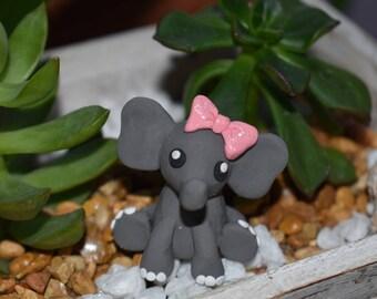 Tiny Elephant Figurine