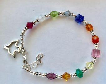 Fruits of the Holy Spirit Bracelet, 12 Fruits of the Holy Spirit Bracelet,  Confirmation Bracelet, Holy Spirit Bracelet, RCIA Present