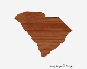 South Carolina State Cutting Board