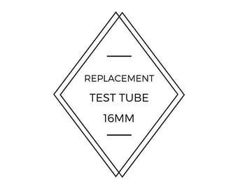 glass test tube, replacement test tube