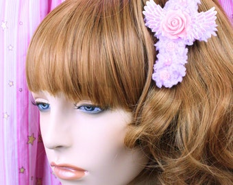 Sweet Lolita Hair Accessory-Fairy Kei Accessory-Alligator Clip-Women's Hair Accessory-kawaii accessory-Lolita head accessory