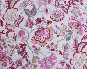 SALE - Liberty tana lawn printed in Japan - Mabelle - Pink mix
