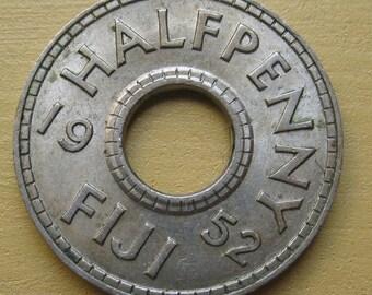 Fiji 1952 1/2 penny KM16