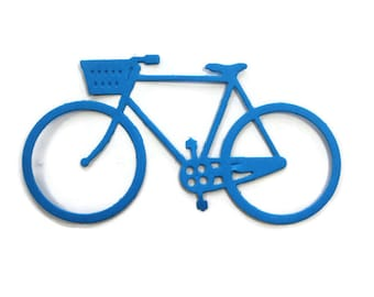 Paper Bicycle Die Cut set of 10
