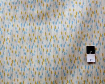 Valori Wells PWVW050 Novella Rain Aqua Cotton Fabric 1 Yd