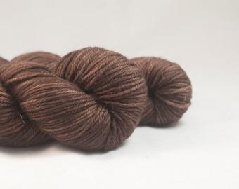 The Great Rupert - Brown Hand Dyed Superwash Merino DK Yarn