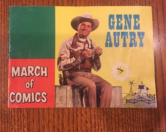 Gene Autry March of Comics Book