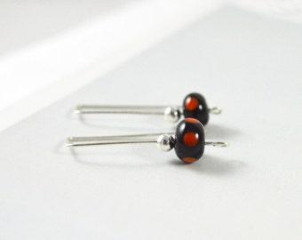 Handmade Earrings, Simple Drop Earrings, Modern Jewellery, Elegant Earrings, Australian Jewellery, Gifts for Teen, FREE SHIPPING
