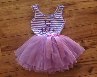 Four and Fabulous Fourth Birthday Dress
