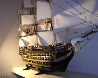 Victory-English combat sailing ship