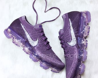 Bling Nike Air VaporMax with Swarovski Crystals - Bling Nike Shoes - Swarovski Nike VaporMax in many colors - Women's Blinged out Nike Shoes