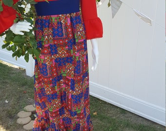 1960's Polyester Vintage Formal By ~Marian SUE~    SALE