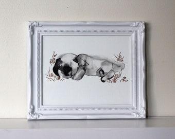 Original Bunny Art Print