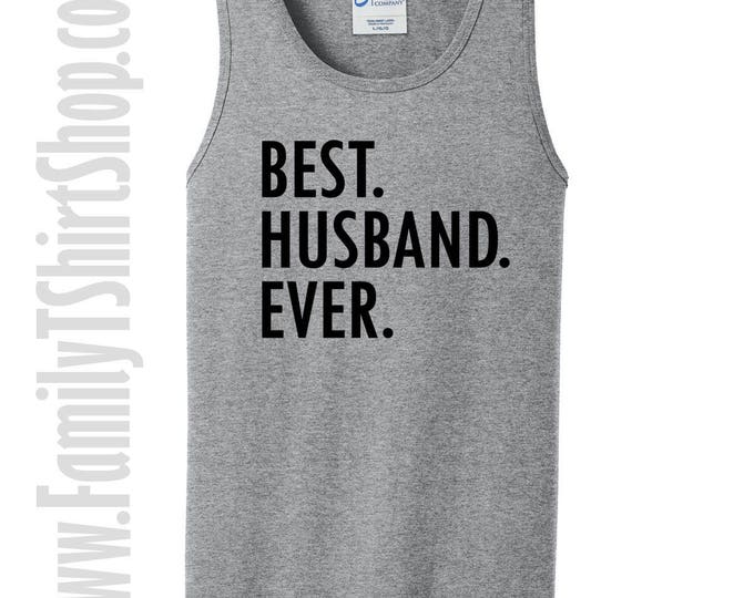 Best Husband Ever Tank Top