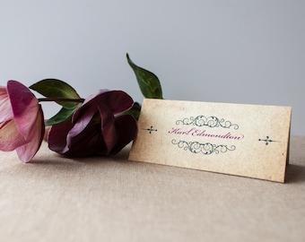 GISELLE // Wedding Stationery // Place Card