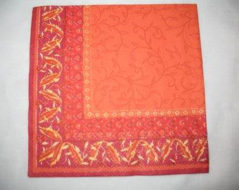 HAVELI ORANGE TOWEL