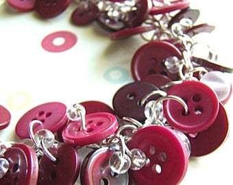 Burgundy Berry - Necklace