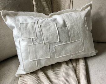 Pillow | Throw Pillow | Grain Sack Pillow | Farmhouse Pillow | Decorative Pillow | Farmhouse Decor | Throw Pillow Cover | Home Decor