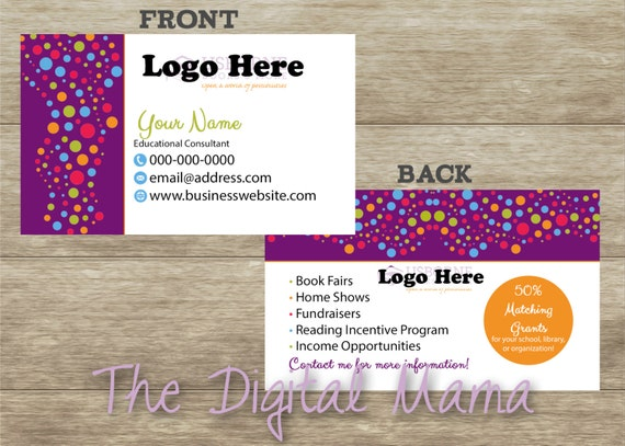 Items similar to usborne books and more consultant business card items similar to usborne books and more consultant business card design usborne books personalized business card usborne books more digital download reheart Choice Image