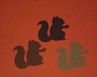 40 Shades of Brown Squirrel  die cuts