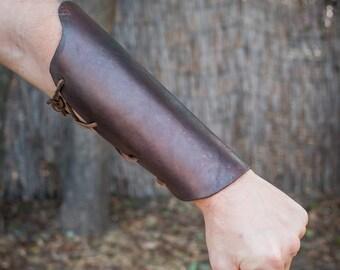 Leather Bracers / Vambraces / Medieval Arm Gruards