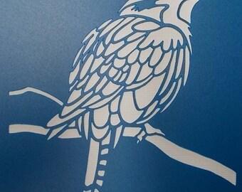 Kookaburra Stencil