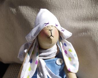 Bunny Tilda, handmade, 41cm